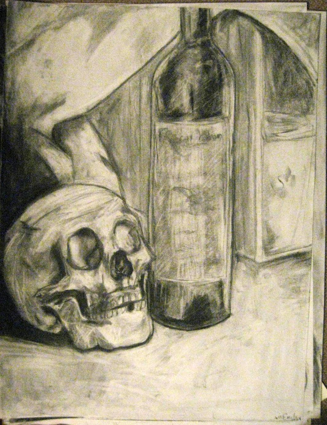 Skull Wine