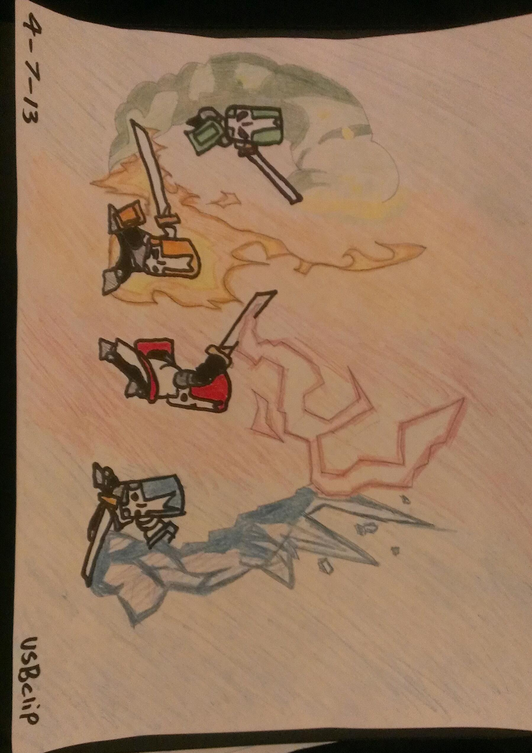 Castle Crashers (Heroic Scene)