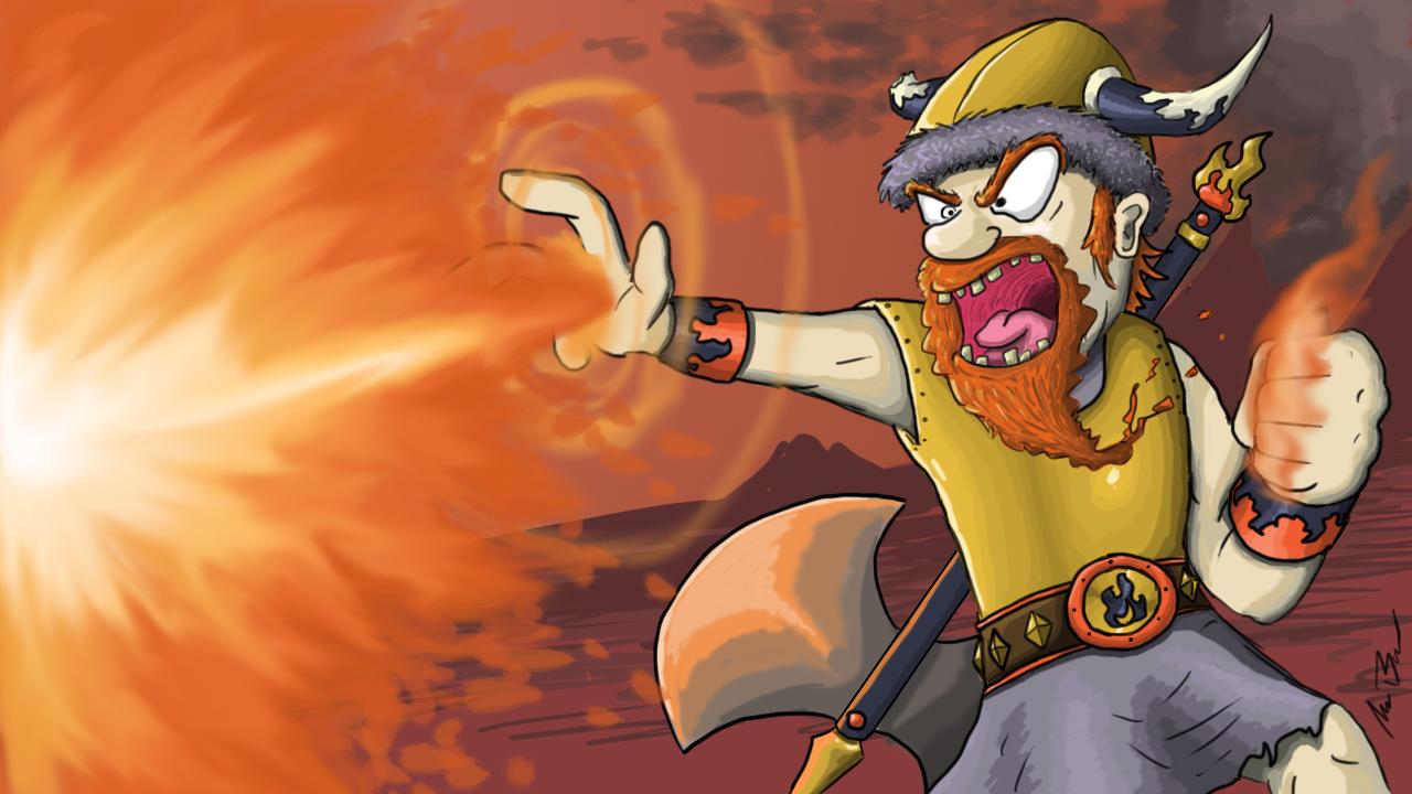 Viking Fire Mage