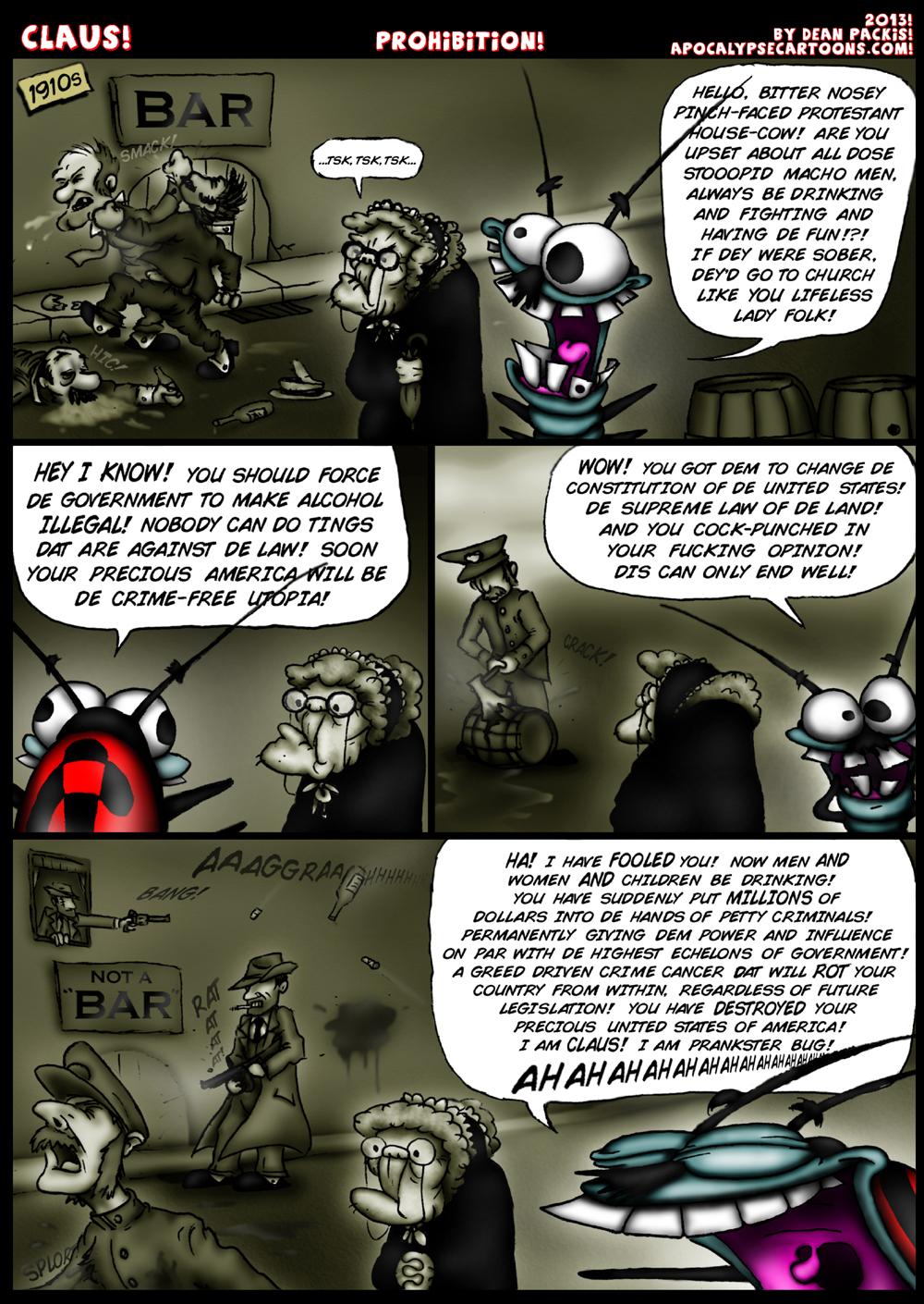 Claus comic 009