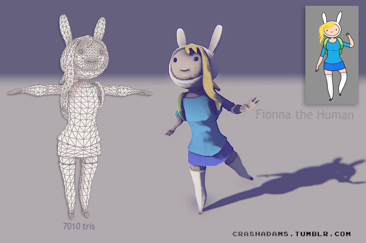 """""""F"""" is Fionna the Human"""