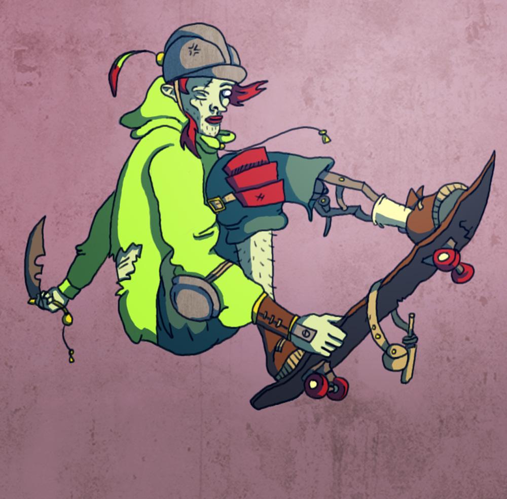 Blade Boarder Boy