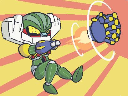KNUCKLE BOMBER!