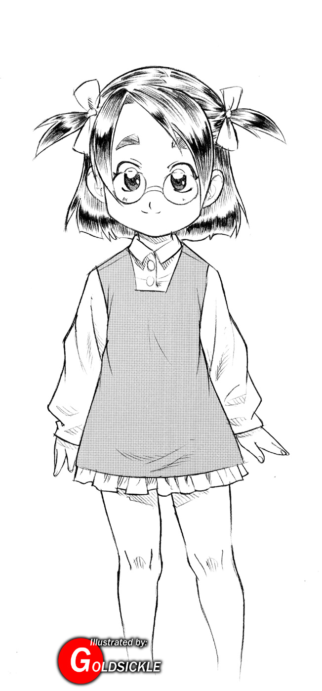 Glasses & Pigtails
