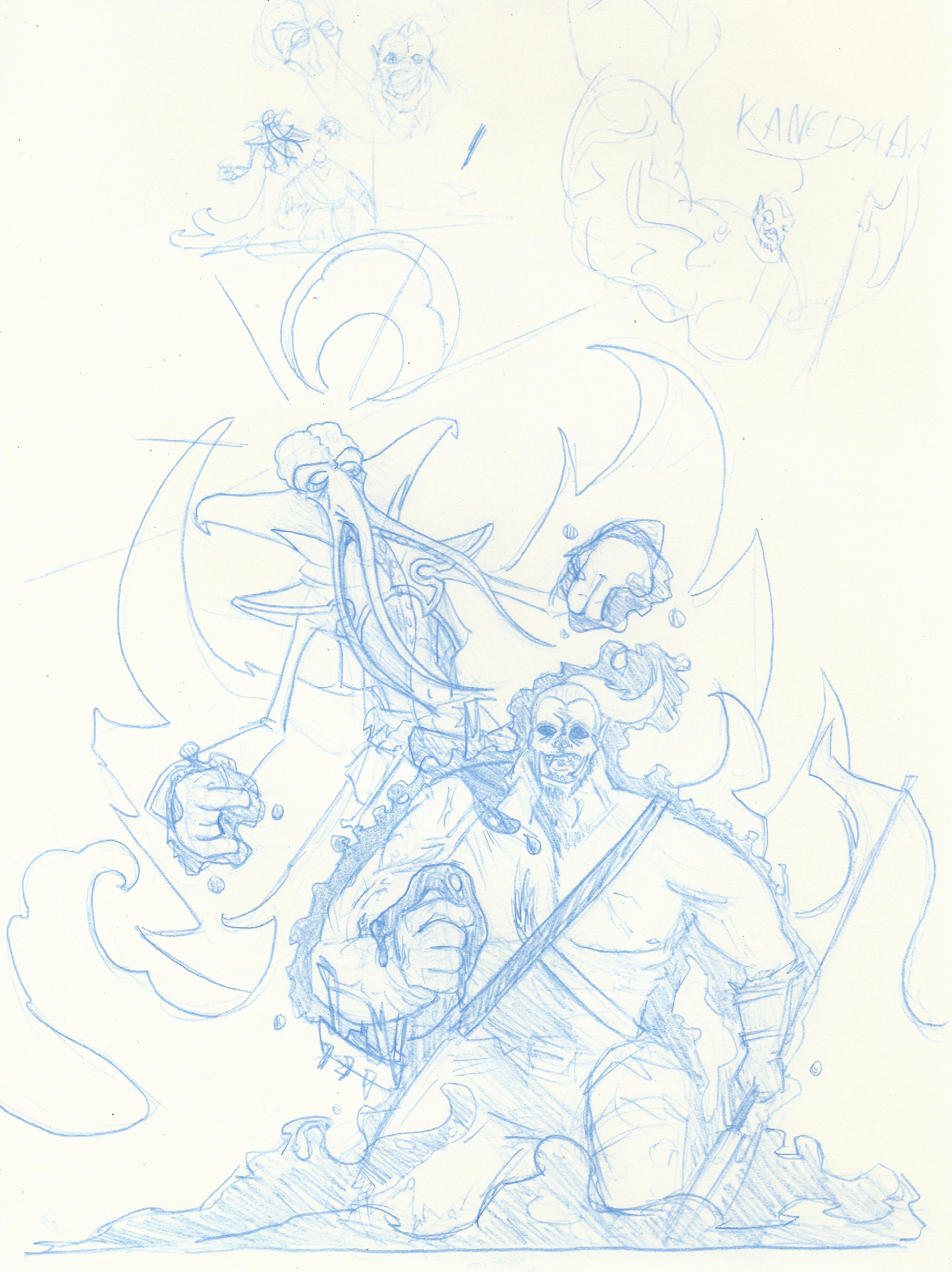 Mindflayer sketch 1