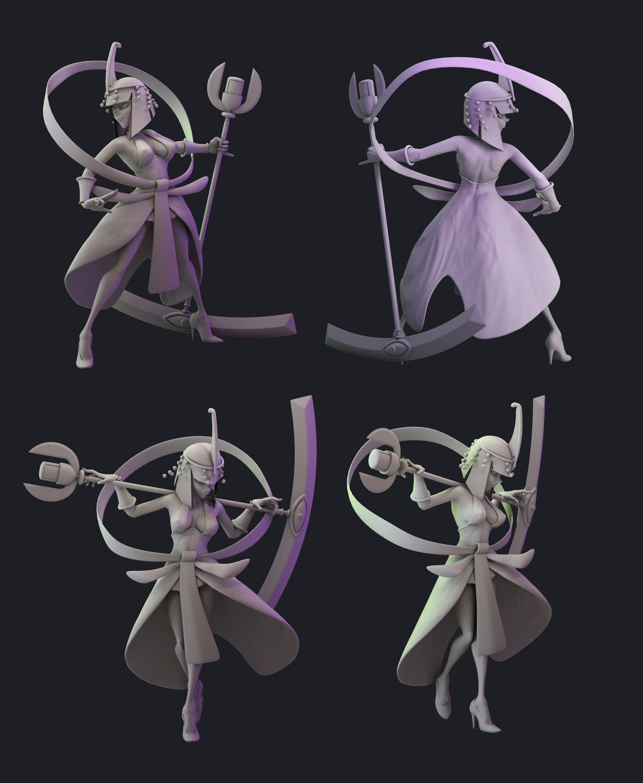 Eliza 3D Model