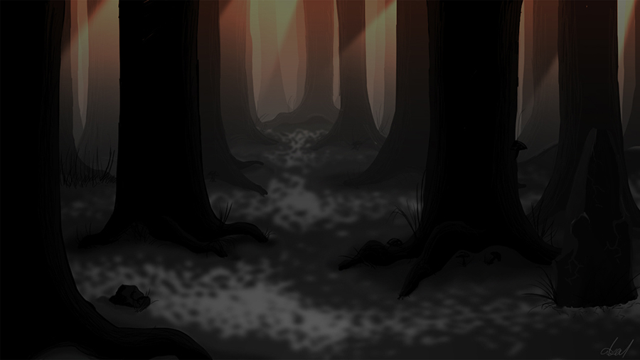 Blacken the Sun Background Art