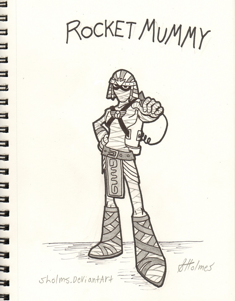 Rocket Mummy