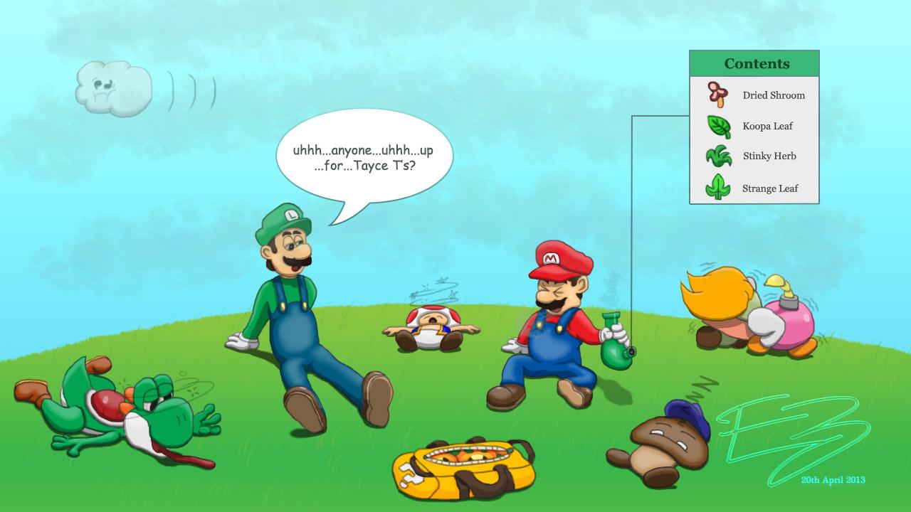 Mario-juana Day