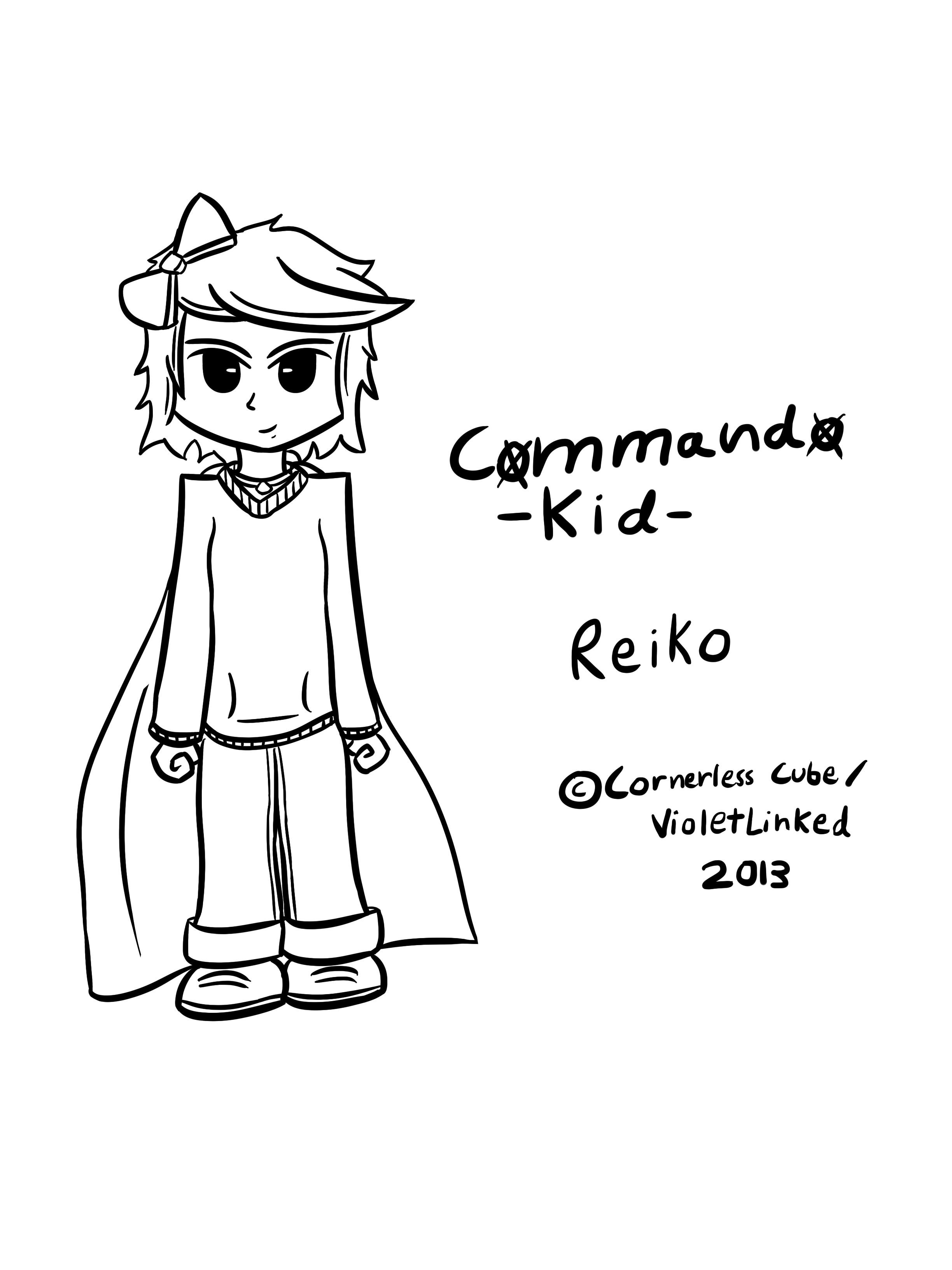 Commando Kid: Tablet Drawing
