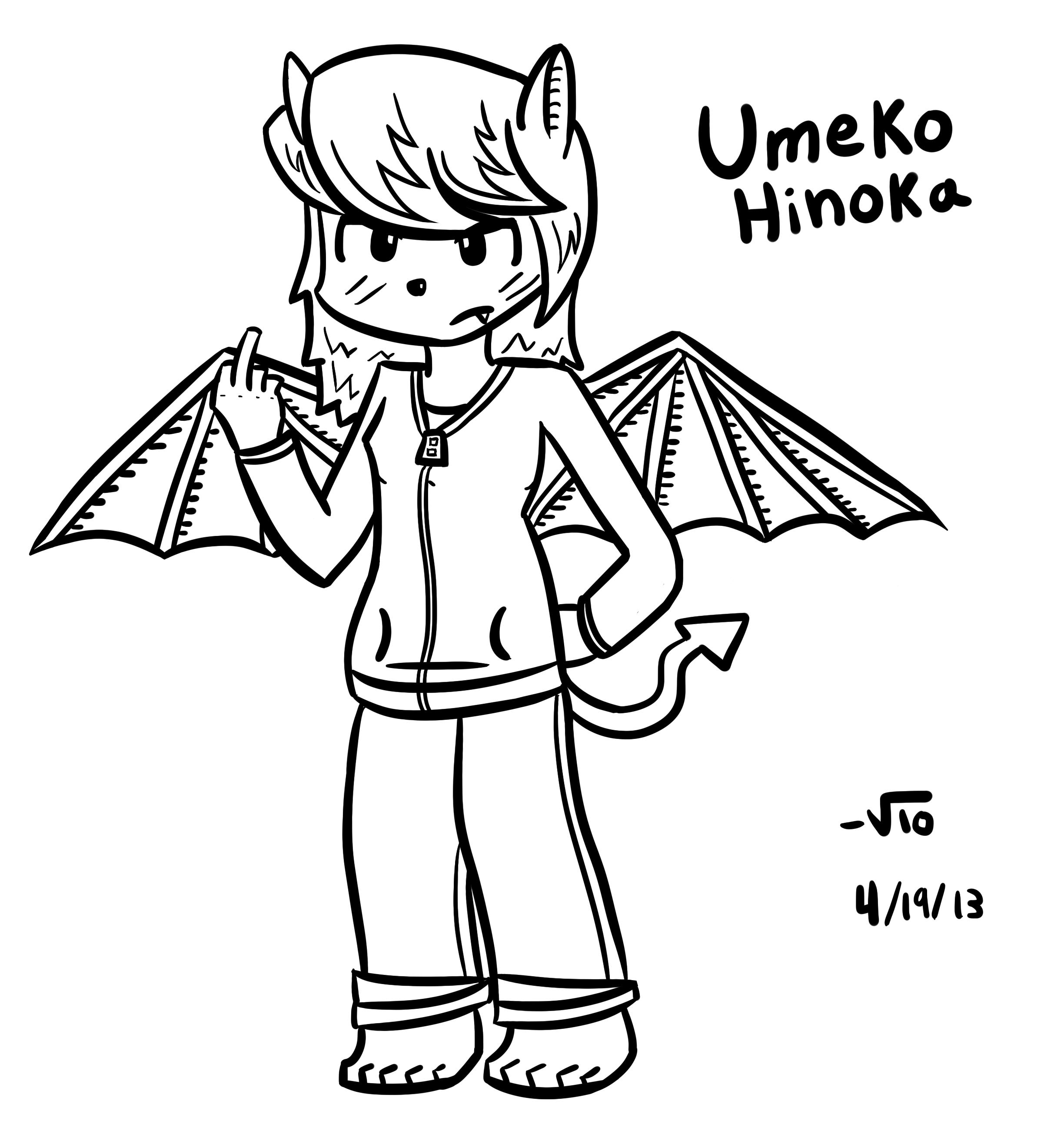 Umeko Hinoka (Original Char)