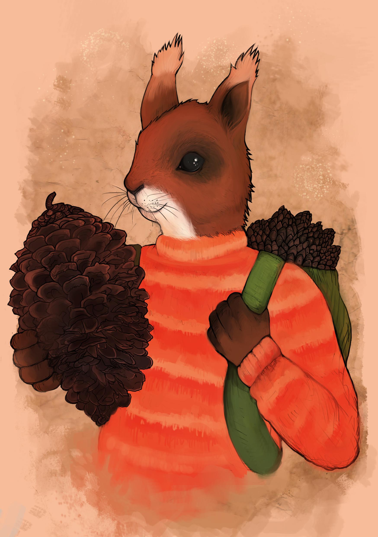 Squirrel fellow