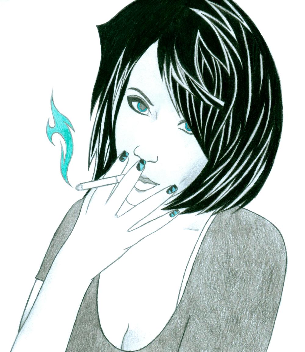 Cigarette Girl #9