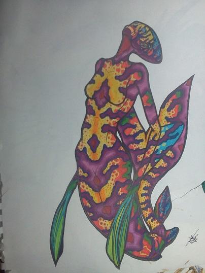 11x14 mermaid