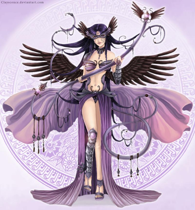 The crook goddess