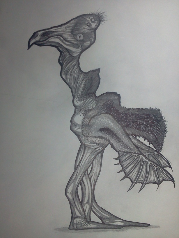 alien birdthing