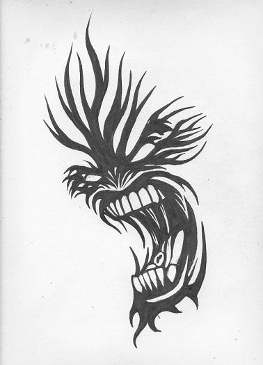 stupid tattoo design