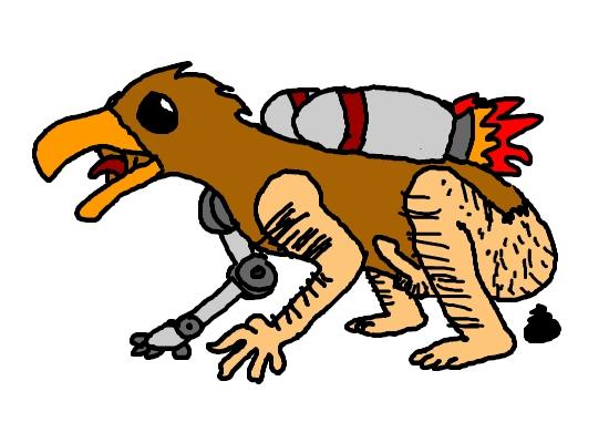 Robo Bird Man