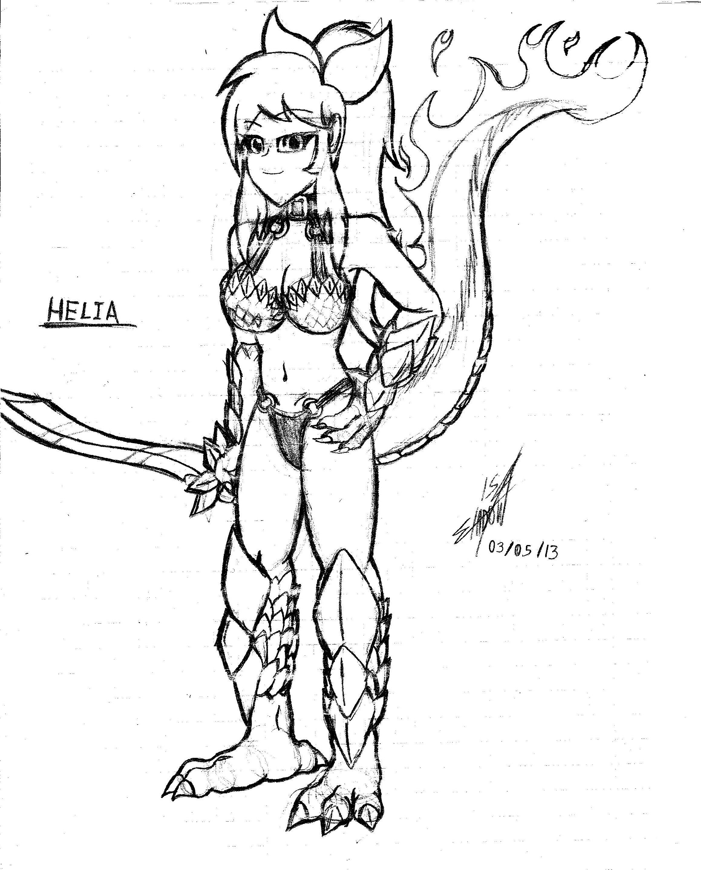 Helia Sketch