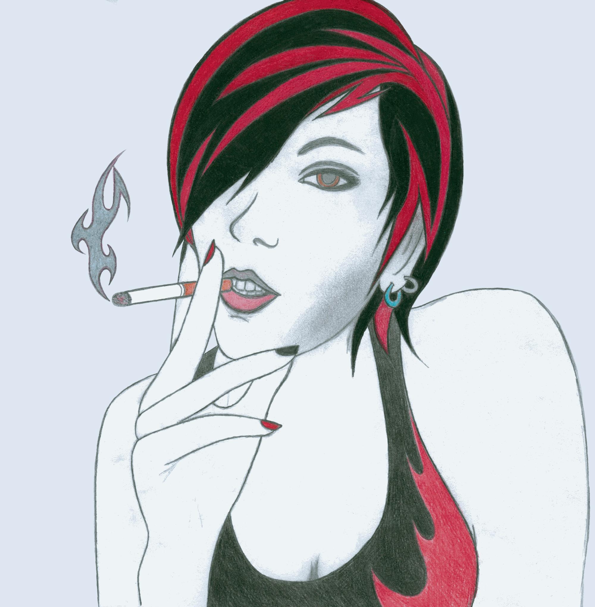 Cigarette Girl #10