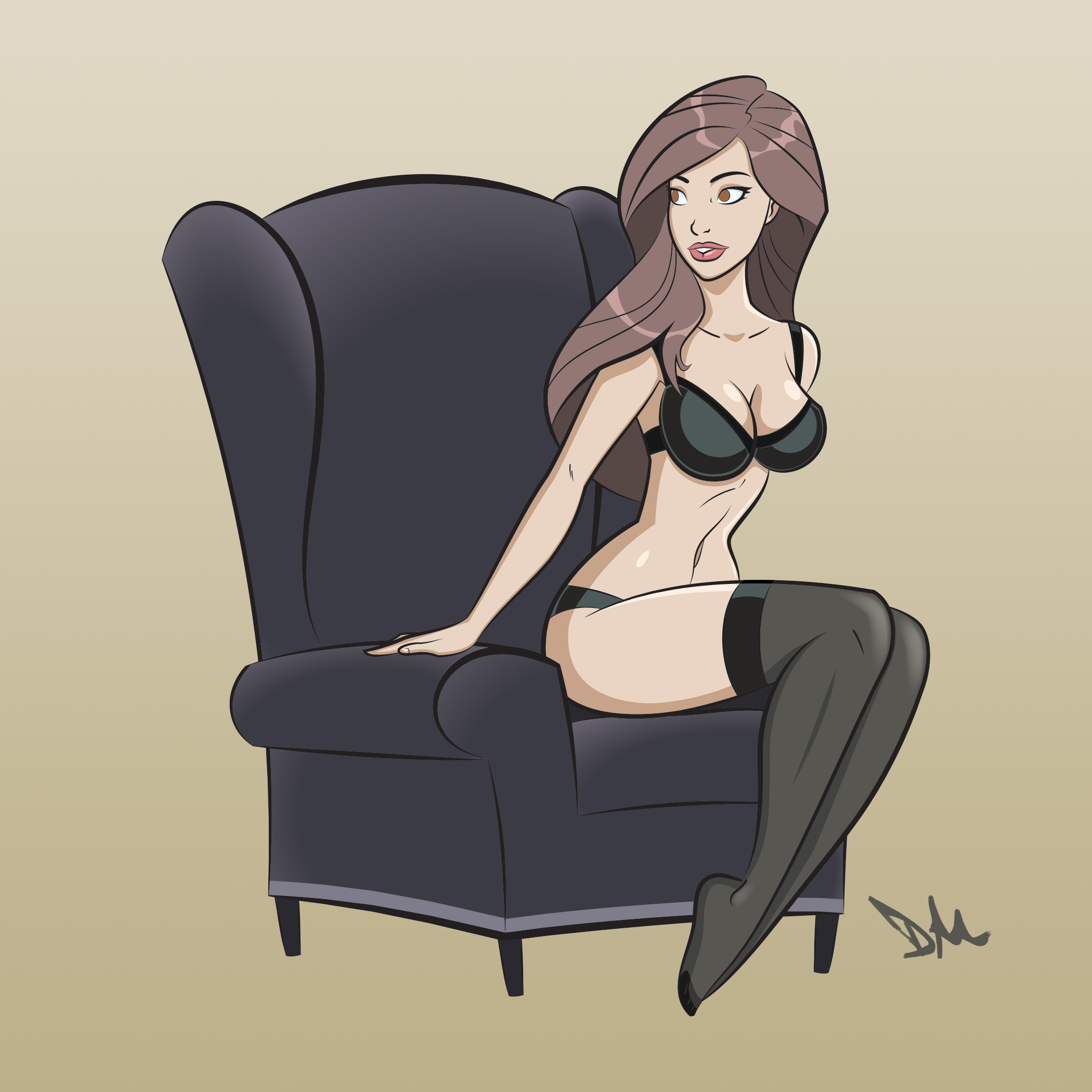 Pin-up Jessica