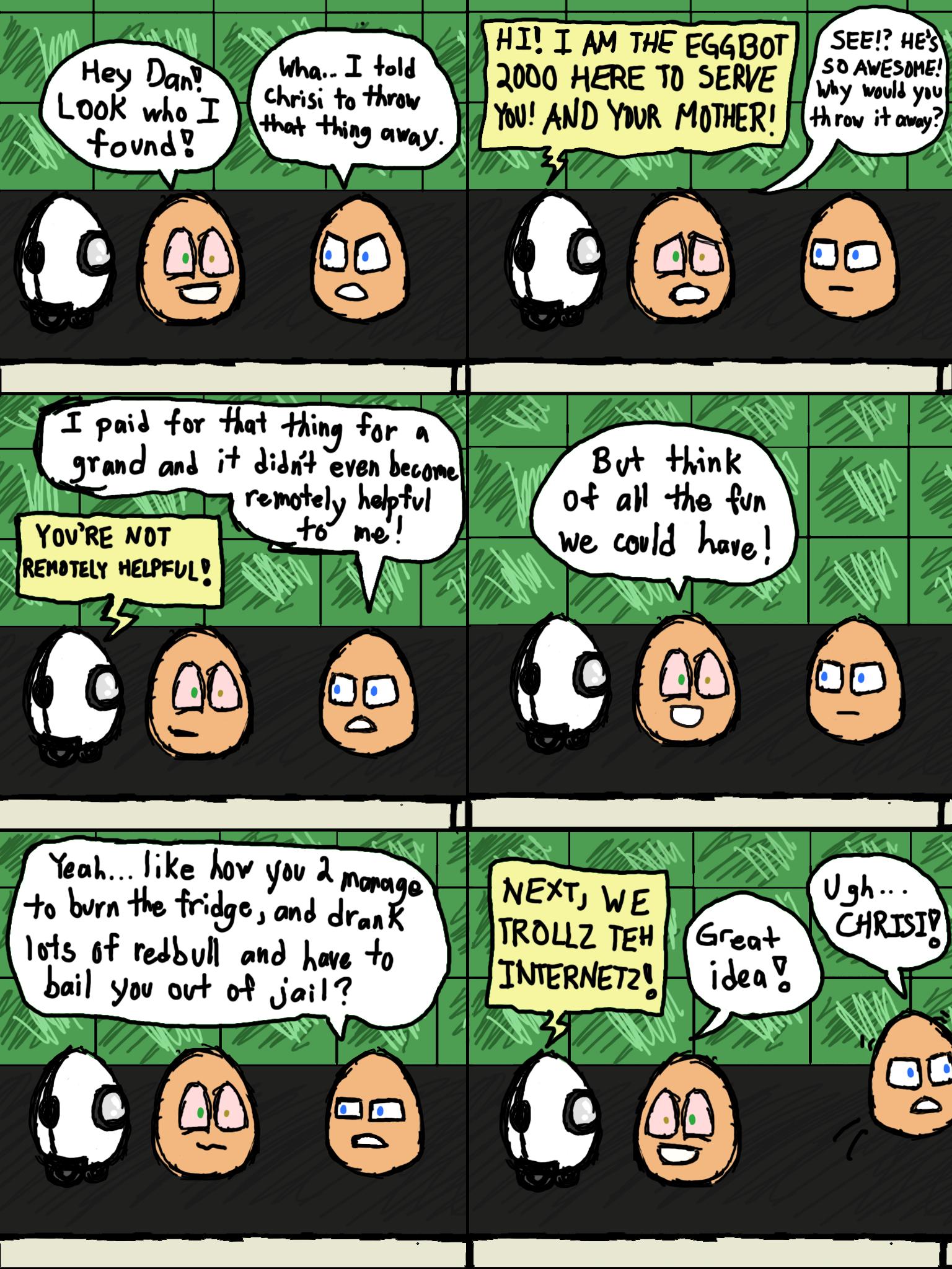 Return of Eggbot