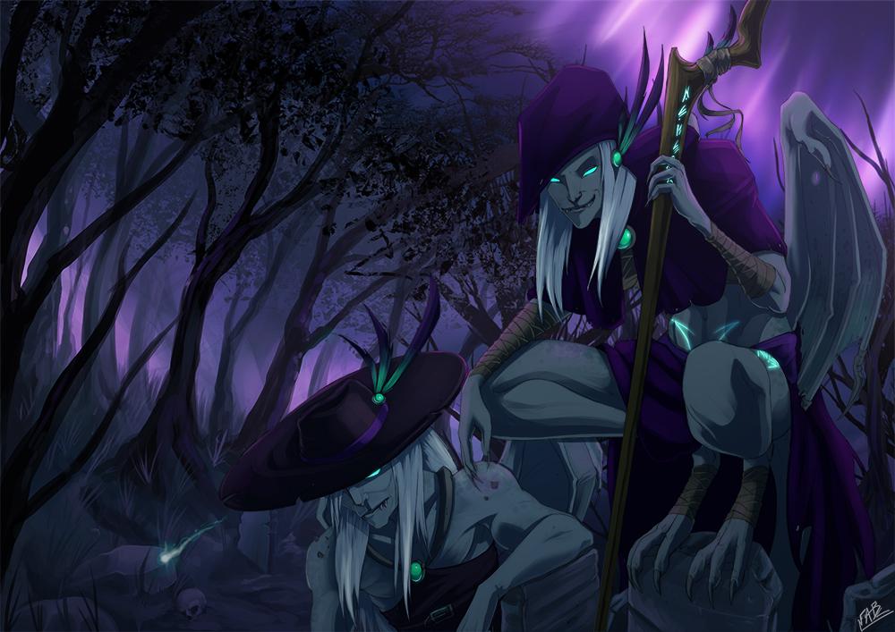 The graveyard Guardiens