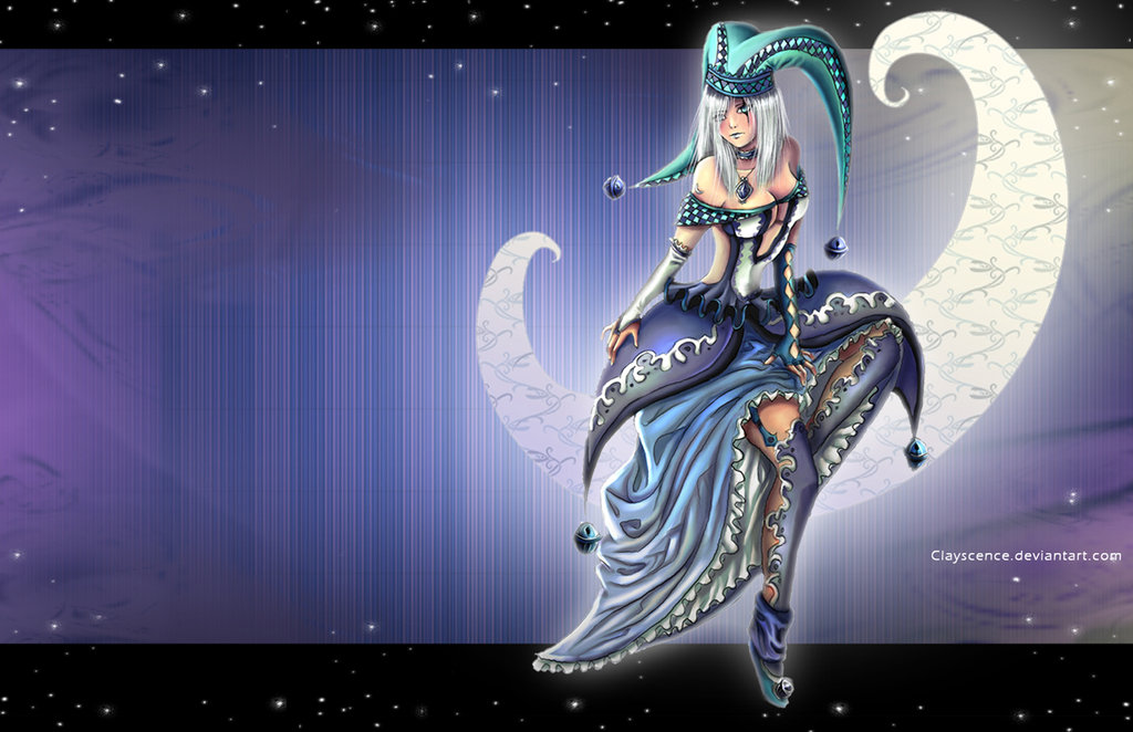 Moon the harlequin