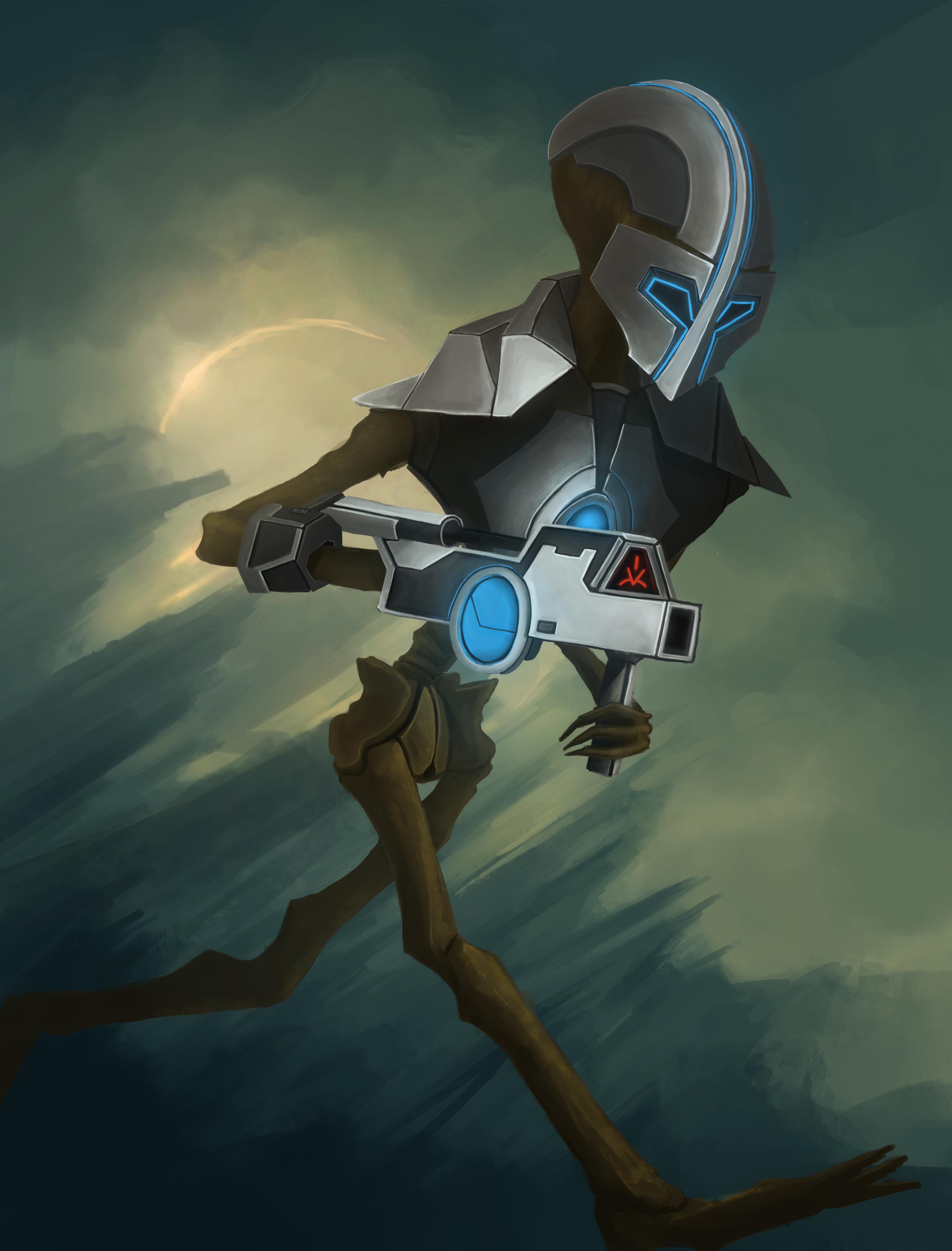 Martian Soldier