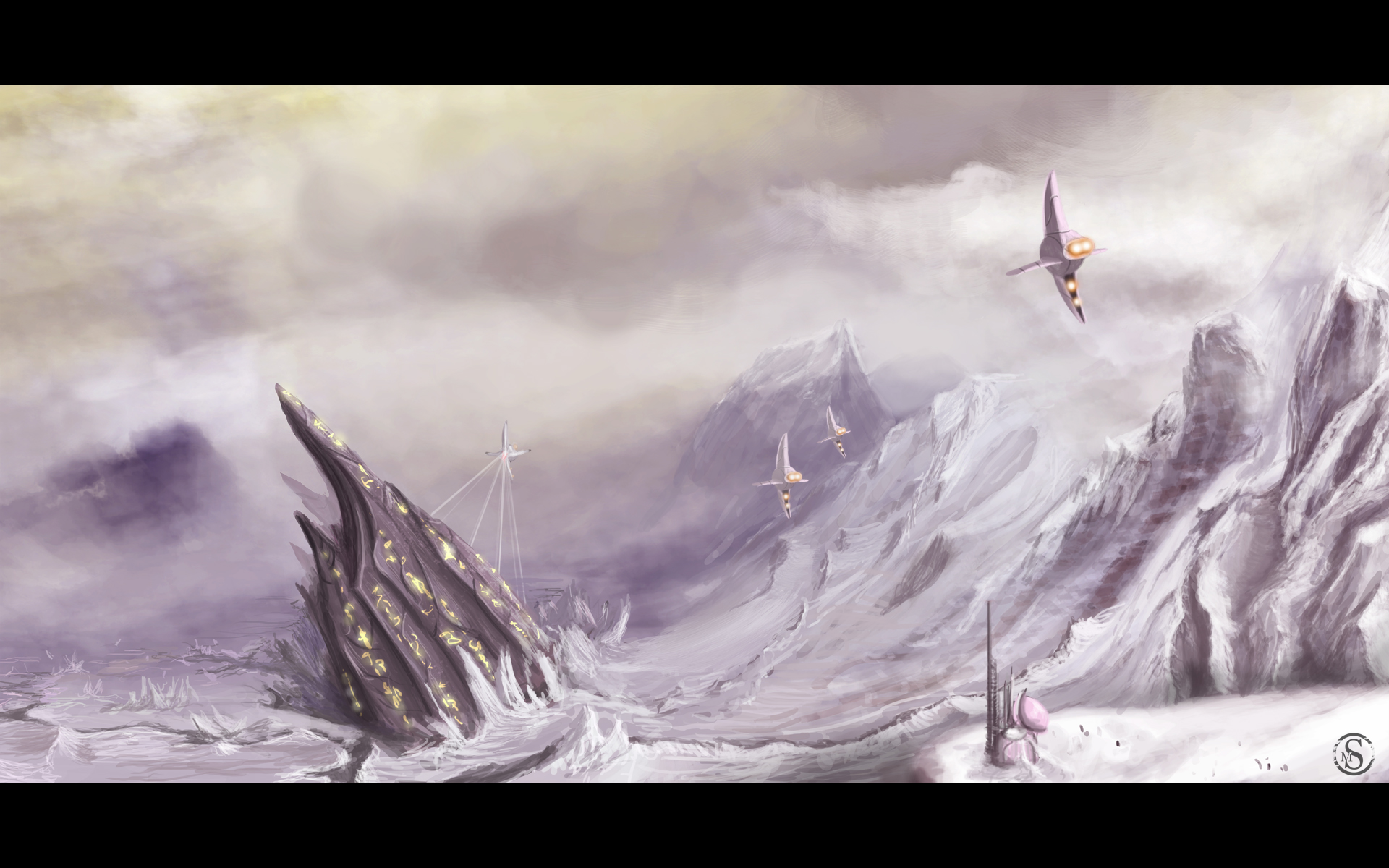 Ancient Spaceship