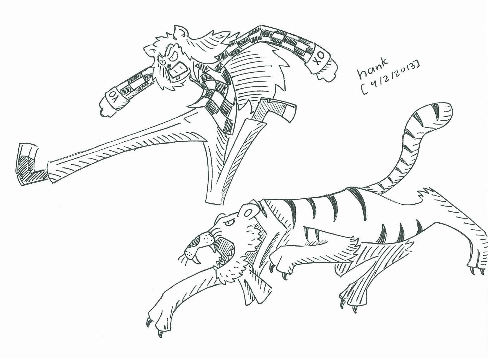 Lion & Tiger