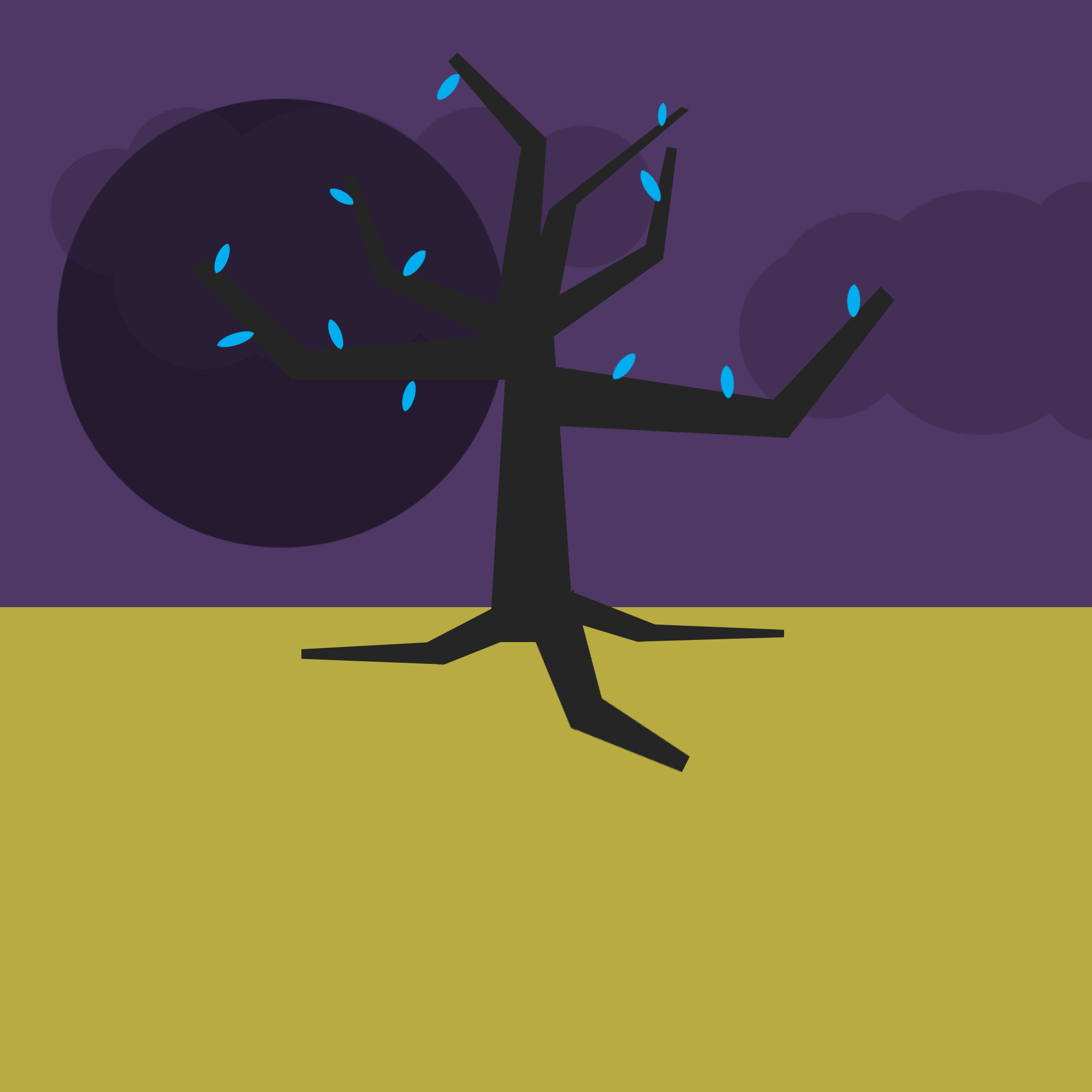 The Purple Planet