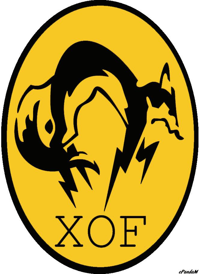 Metal Gear Solid XOF Logo