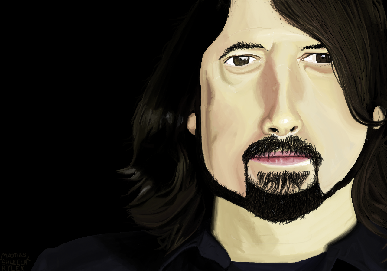 Ms Paint: Dave Grohl