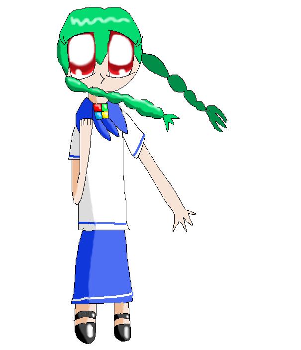 ME-Tan in Sailor Fuku