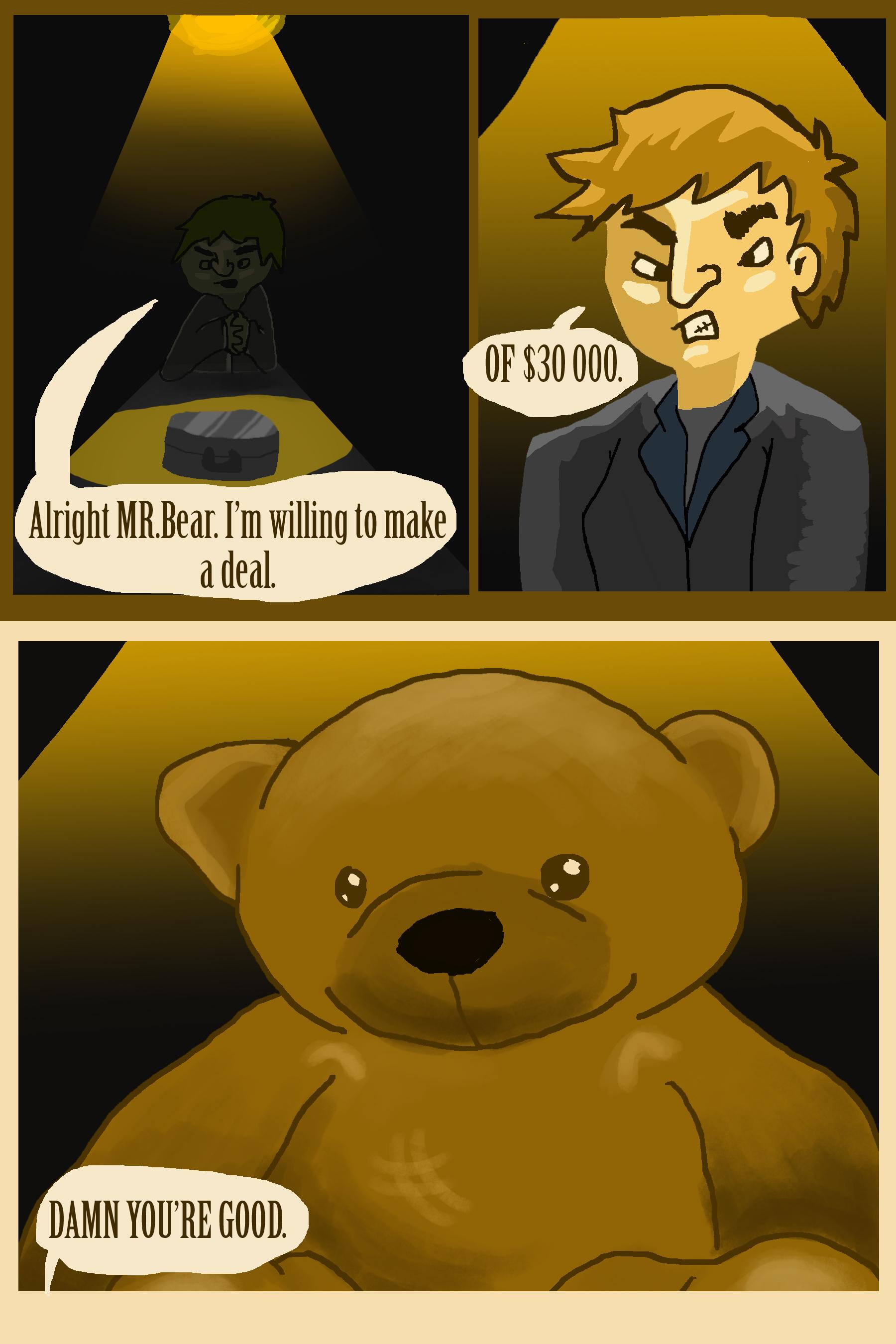 Mr.Bear In Questioning