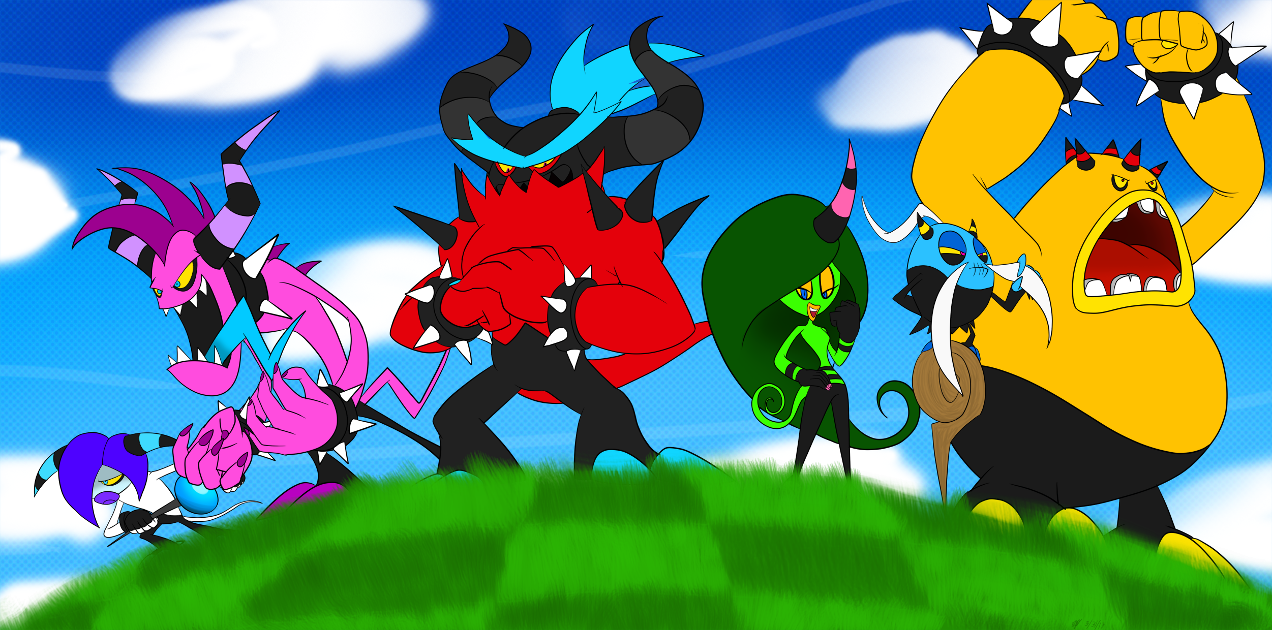 The Deadly Six