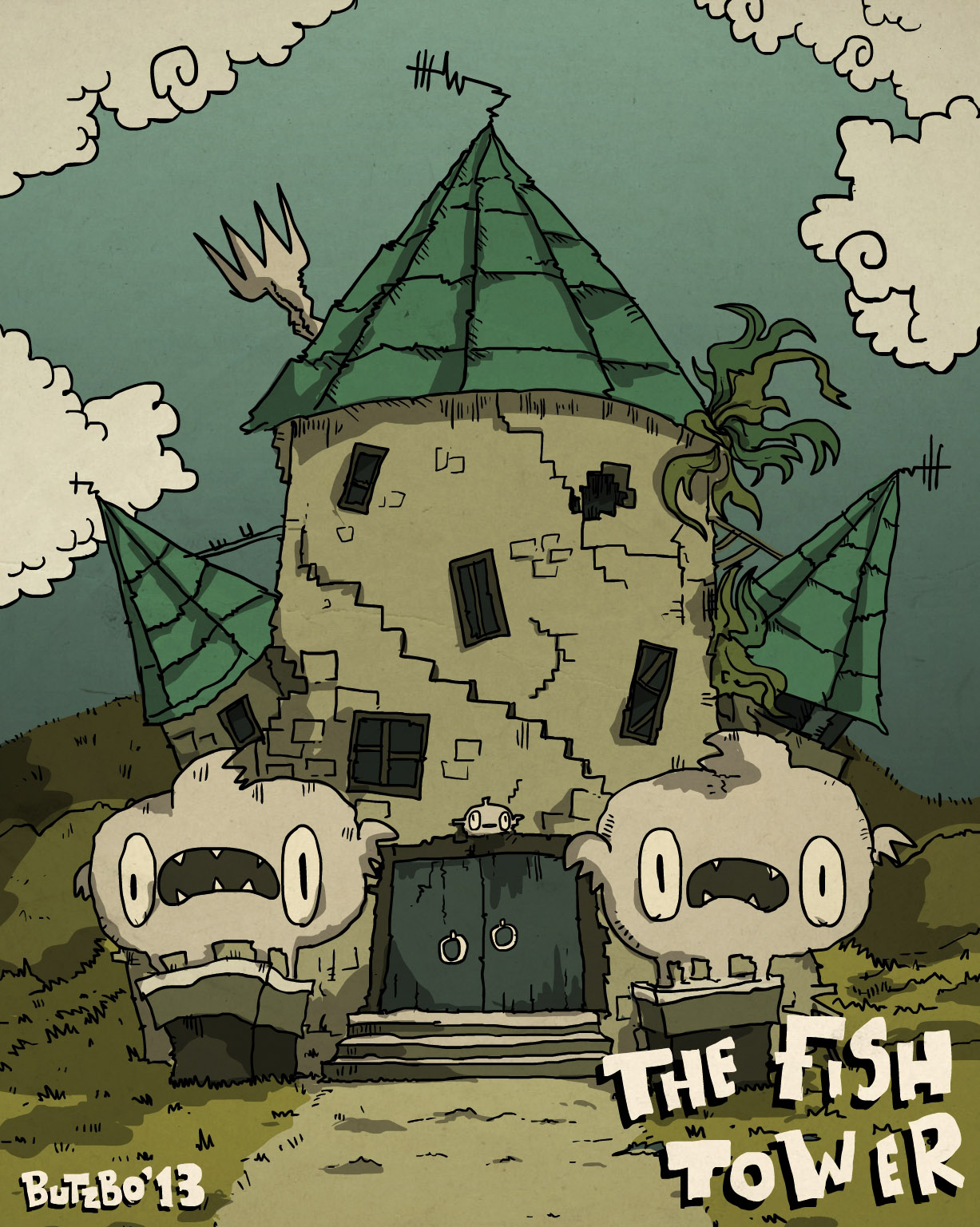 'The Fish Tower'
