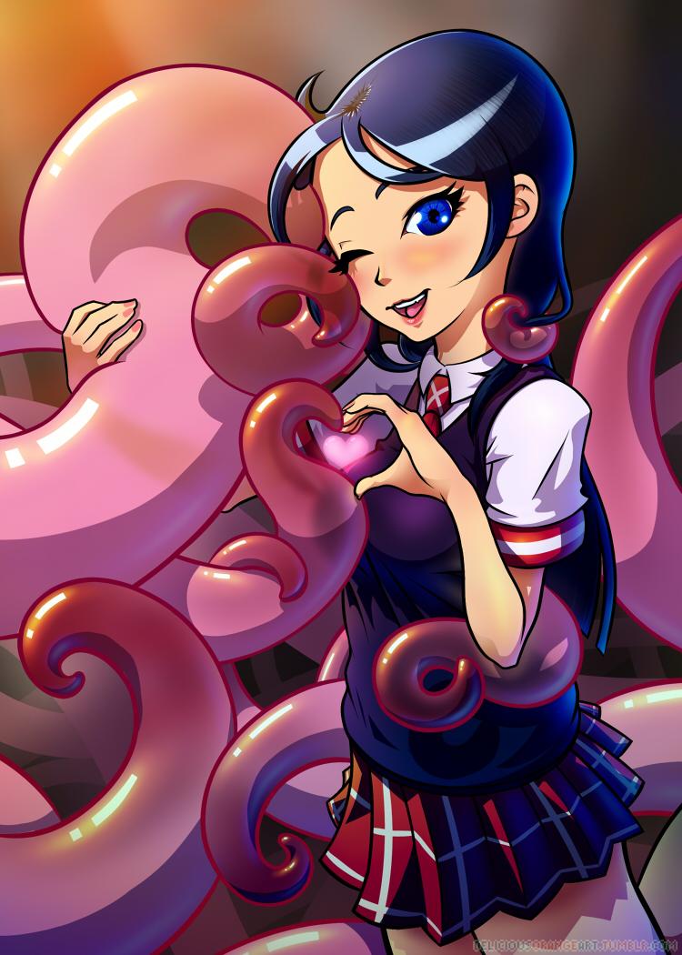 Schoolgirls Love Tentacles