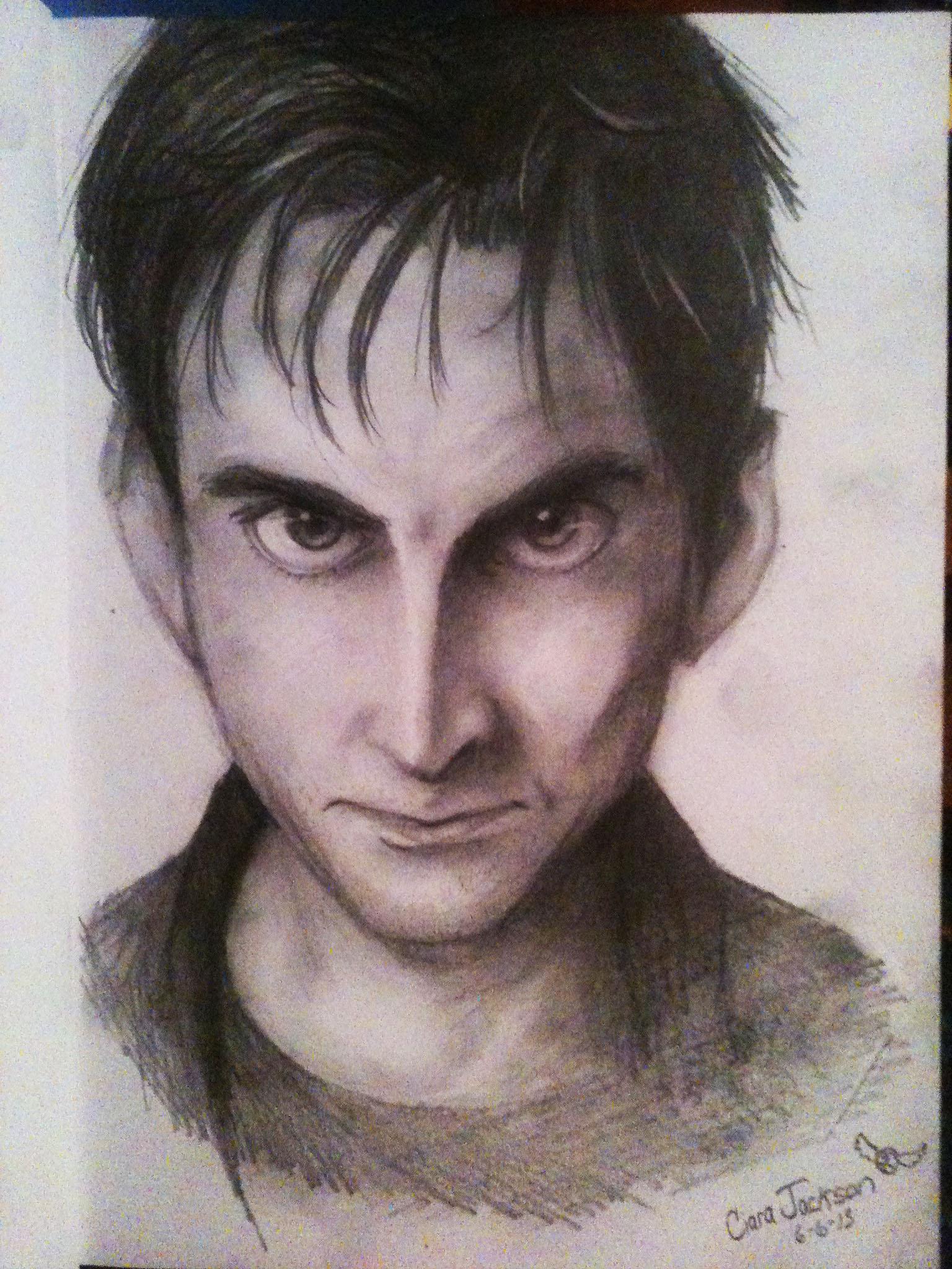David Tennant Drawing