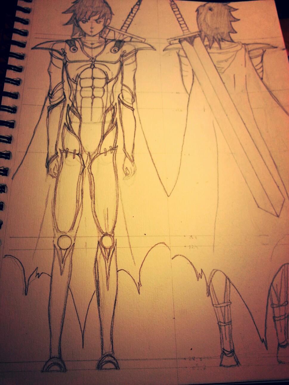 Tamashi sketch