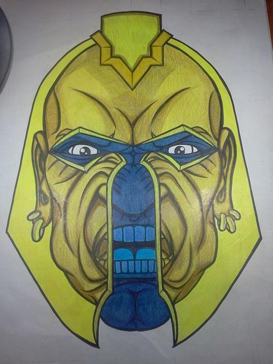 18x24-iam mars the god of war!