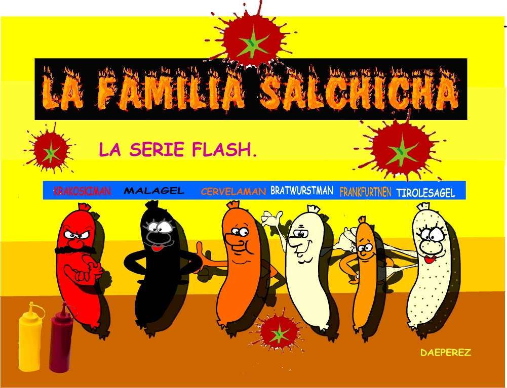 la familia salchicha