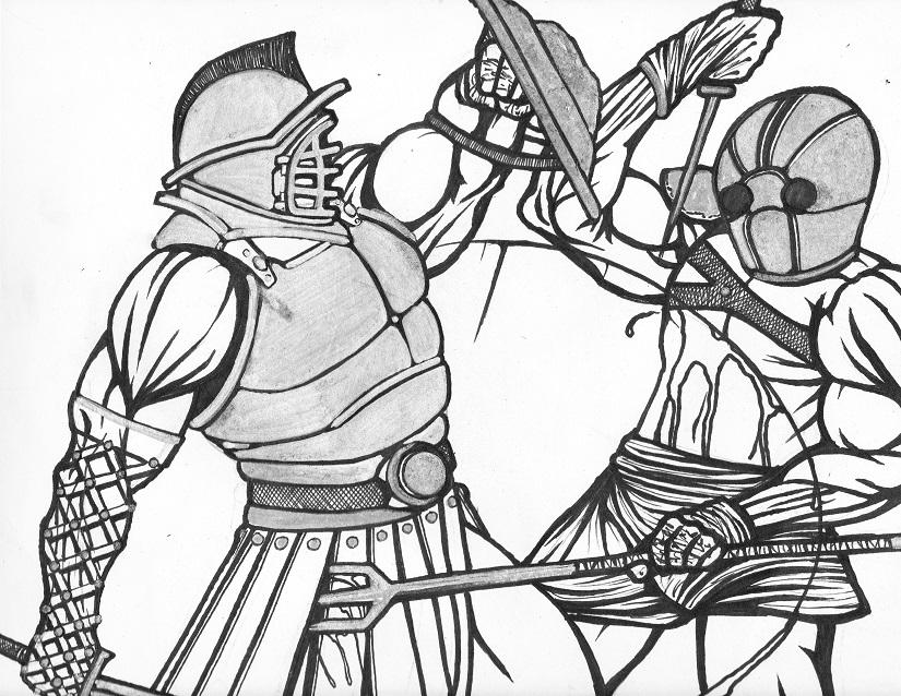 11x14 gladiators