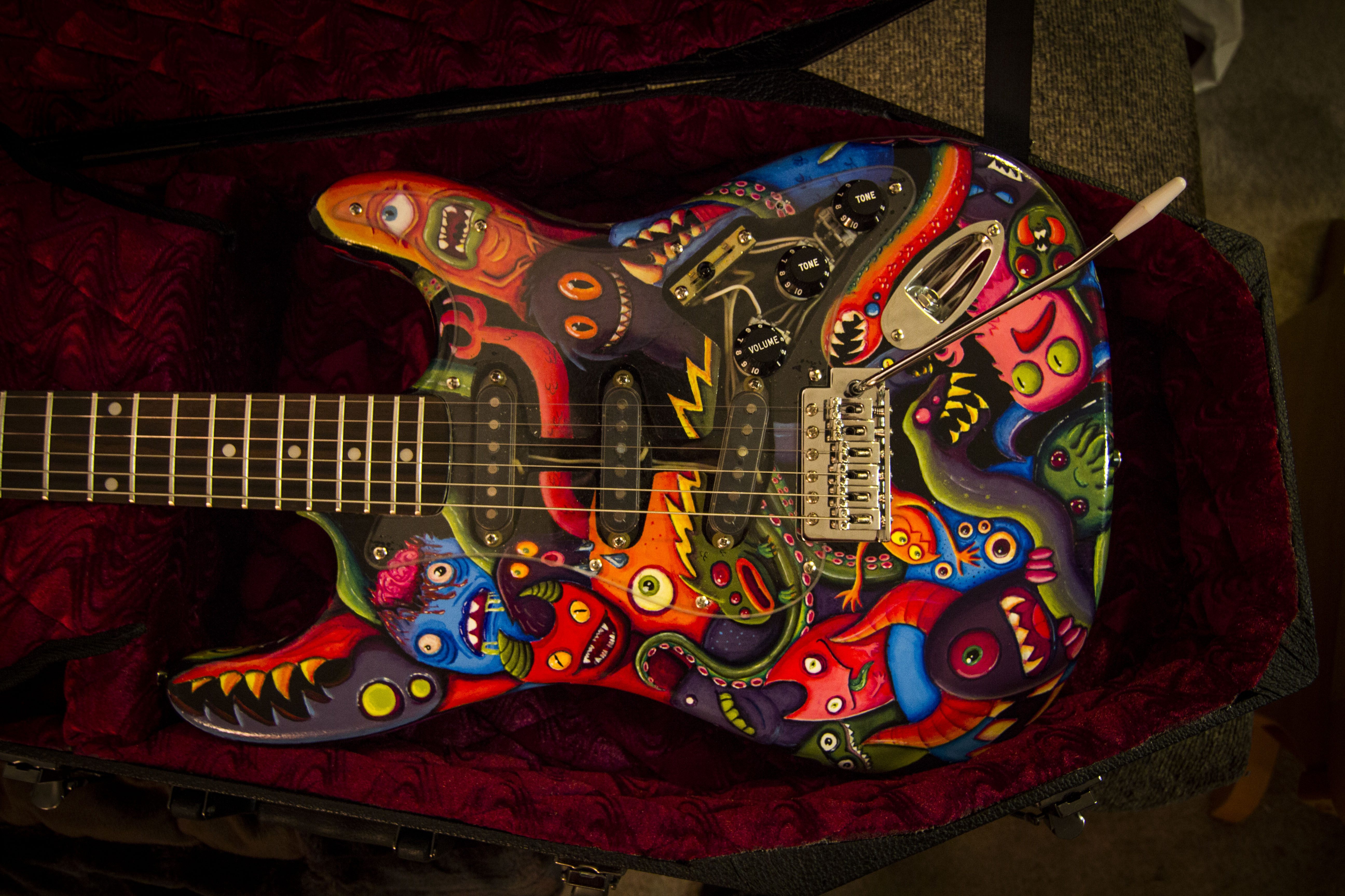 Custom Guitar Monsters
