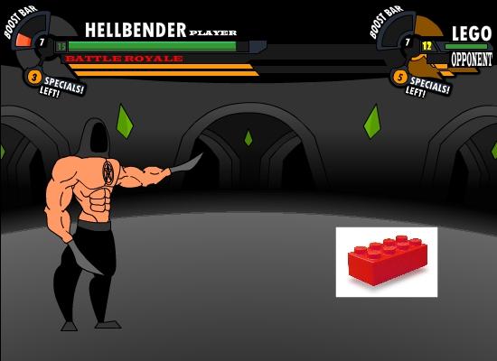 Hellbender Vs Lego