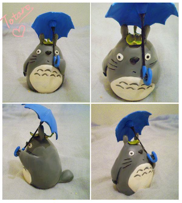 Totoro sculpey