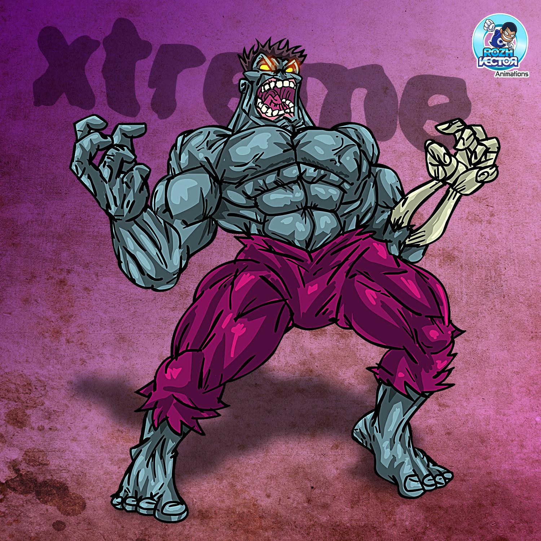 Zombie Hulk Xtreme Edition