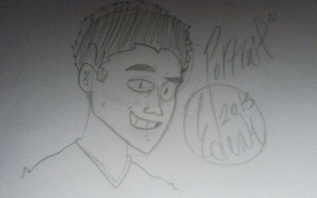 Drawing of myself.