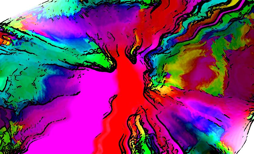A splash of colors